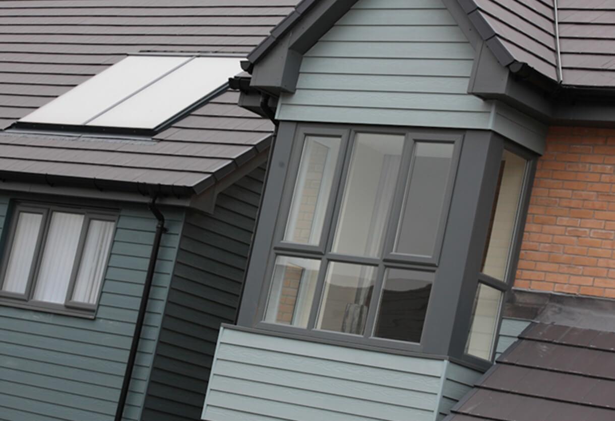 Low Maintenance External Cladding Double Glazing Essex Ltd