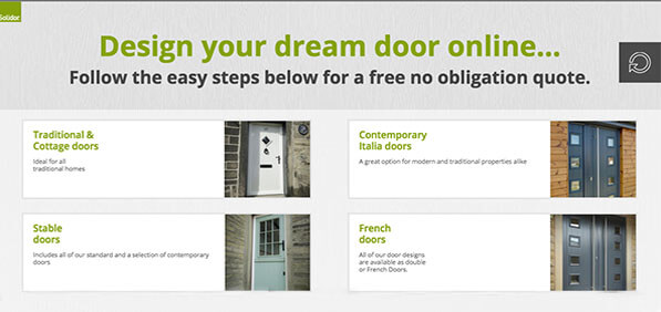 Design your own door & get a quote