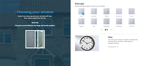 Build your window