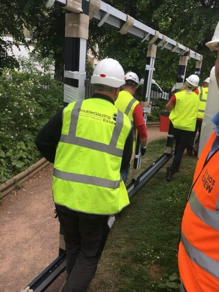 Double Glazing Essex and DIY SOS crew
