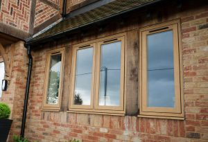 Oak effect Residence 9 window