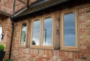 Oak effect Residence 9 window